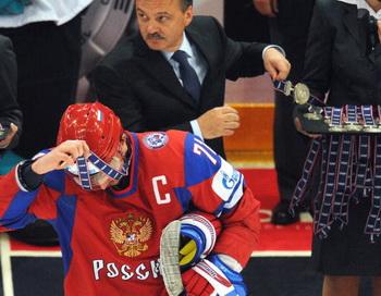 Сборная России по хоккею стала серебряным призером ЧМ-2010