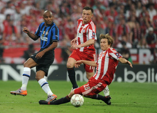 Миланский «Интер» выиграл Лигу Чемпионов. Фоторепортаж