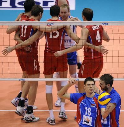Волейбол: сборная России вышла в финал Мировой лиги. Фоторепортаж