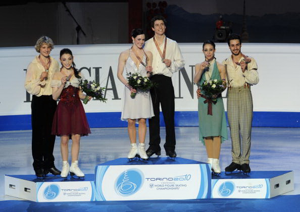 163 270310 001 FK - Канадцы Вирту и Мойр завоевали золото по фигурному катанию среди танцоров. Фото