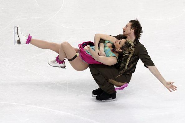 163 270310 14 FK - Канадцы Вирту и Мойр завоевали золото по фигурному катанию среди танцоров. Фото