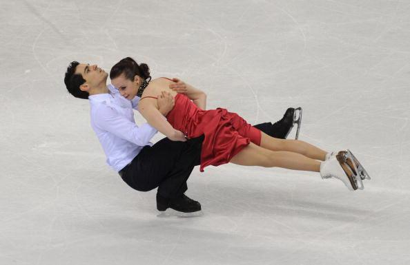 163 270310 16 FK - Канадцы Вирту и Мойр завоевали золото по фигурному катанию среди танцоров. Фото