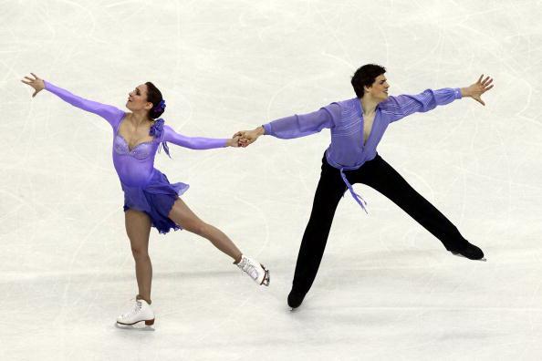 163 270310 21 FK - Канадцы Вирту и Мойр завоевали золото по фигурному катанию среди танцоров. Фото