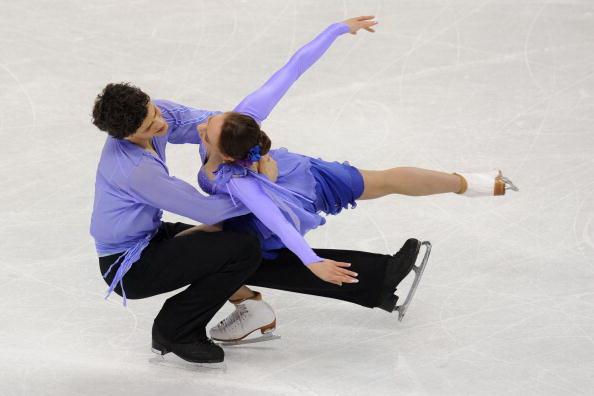 163 270310 25 FK - Канадцы Вирту и Мойр завоевали золото по фигурному катанию среди танцоров. Фото