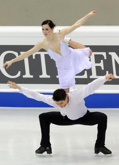 163 270310 2 FK - Канадцы Вирту и Мойр завоевали золото по фигурному катанию среди танцоров. Фото