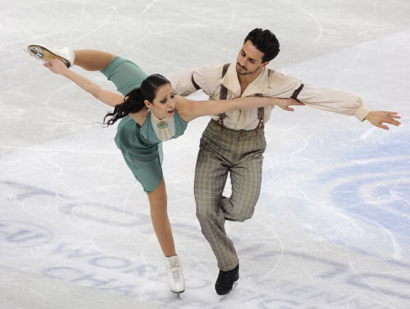 163 270310 7 FK - Канадцы Вирту и Мойр завоевали золото по фигурному катанию среди танцоров. Фото