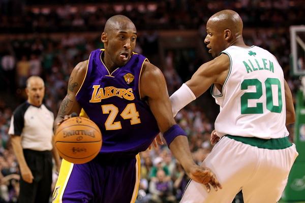 173 09 06 10 LA Boston 05 - «Лос-Анджелес Лейкерс» победил «Бостон Селтикс» в финальной серии плей-офф НБА. Фоторепортаж