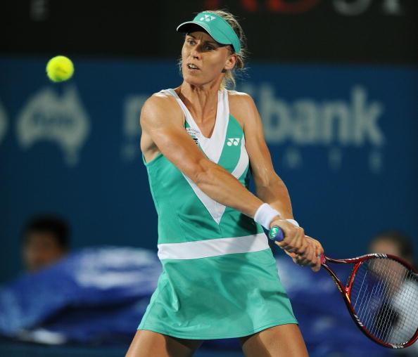 Дементьева победила Сафину в 1/4 финала турнира в Сиднее. Фоторепортаж