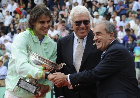 Рафаэль Надаль выиграл Открытый чемпионат Франции. Фоторепортаж