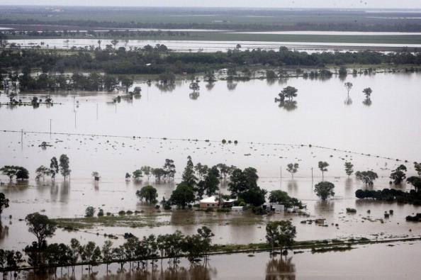 Наводнение в Австралии. Фоторепортаж из города Мори