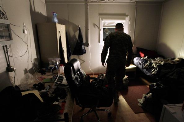 Ирак. Фоторепортаж  о подготовке американских военных из лагеря Adder к выводу из страны