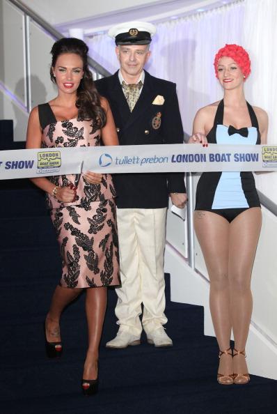 Тамара Экклстоун на открытии бот-шоу Tullett Prebon в Лондоне