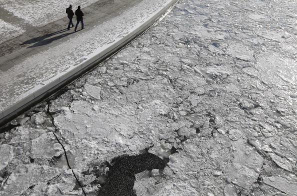Арктические морозы добрались до Германии