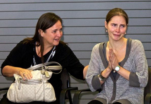 Фоторепортаж  c пресс-конференции Аманды Нокс  в ее родном  Сиэтле