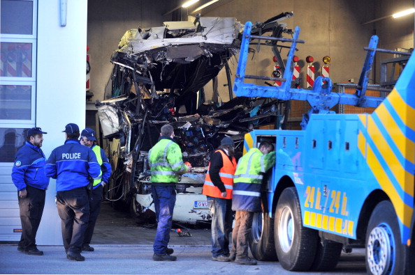 В крупном ДТП в Швейцарии погибли 28 бельгийских туристов, в том числе 22 ребенка