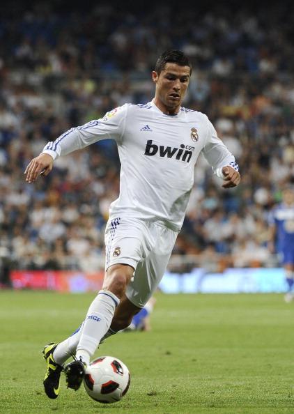 Криштиану Роналду установил новый рекорд в истории турнира La-Primera.  Фоторепортаж с матча