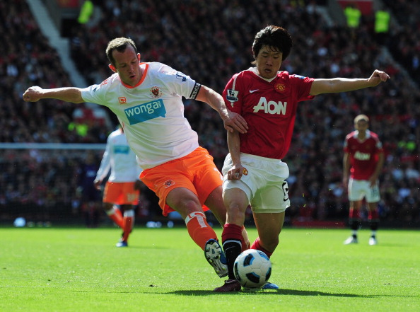 Фоторепортаж с   матча между командами «Манчестер Юнайтед»  и  «Блэкпул»