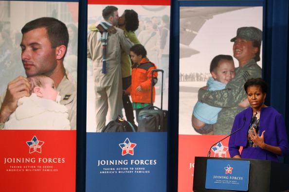 Мишель Обама провела  пресс-конференцию в Министерстве труда в Вашингтоне