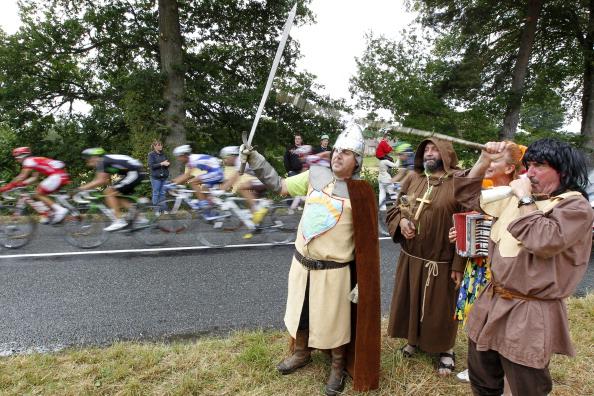 161 71011VELOG 05 - Руи да Кошта  выиграл восьмой этап велогонки Tour de France. Фоторепортаж с трассы