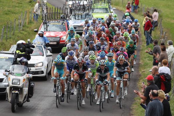 161 71011VELOG 08 - Руи да Кошта  выиграл восьмой этап велогонки Tour de France. Фоторепортаж с трассы