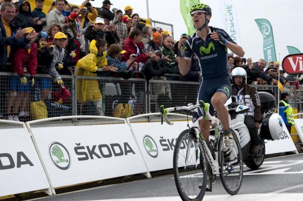 161 71011VELOG 13 - Руи да Кошта  выиграл восьмой этап велогонки Tour de France. Фоторепортаж с трассы