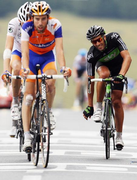161 71011VELOG 19 - Руи да Кошта  выиграл восьмой этап велогонки Tour de France. Фоторепортаж с трассы