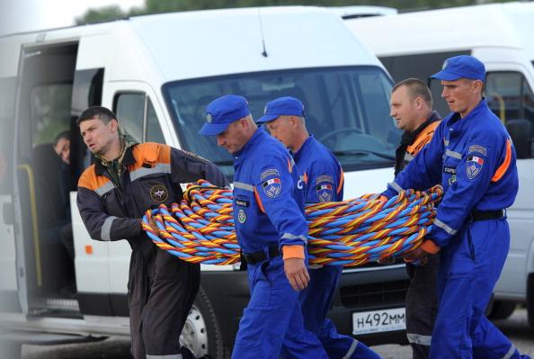 Фоторепортаж  с места катастрофы теплохода «Булгария»