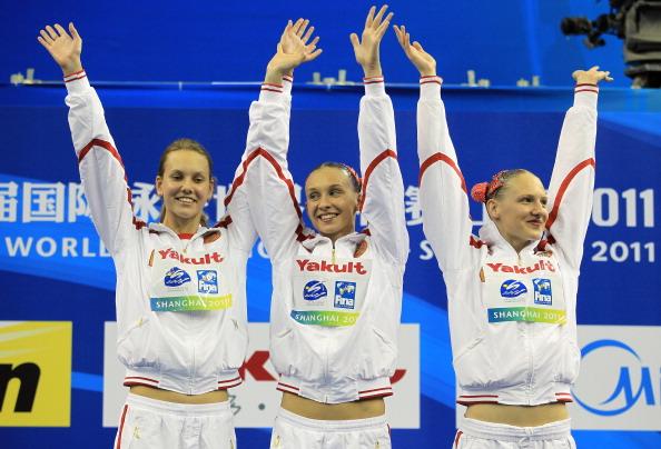Ищенко и Ромашина завоевали золото в произвольной программе дуэтов на ЧМ-2011