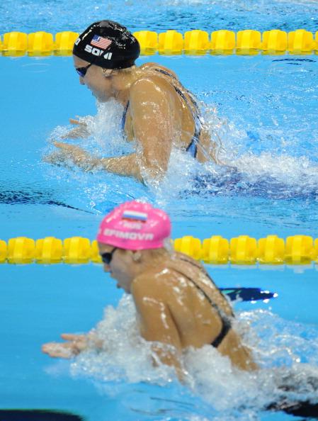 Юлия Ефимова завоевала серебряную медаль  в заплыве на 200 метров брассом на ЧМ в Шанхае