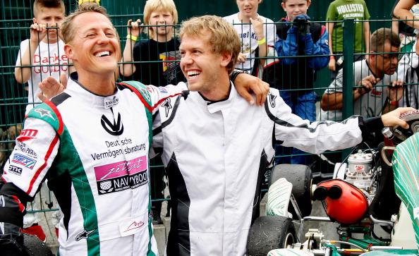 Шумахер и Веттель  отпраздновали 50-летний юбилей картинг клуба в Керпене