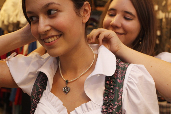 Наряды для фестиваля «Октоберфест»