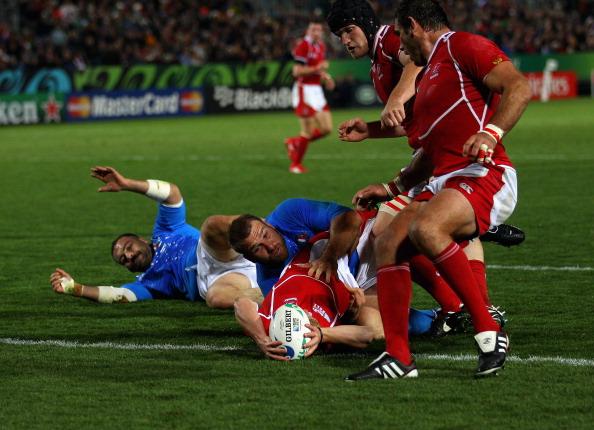 Сборная России по регби проиграла команде  Италии. Фоторепортаж с матча