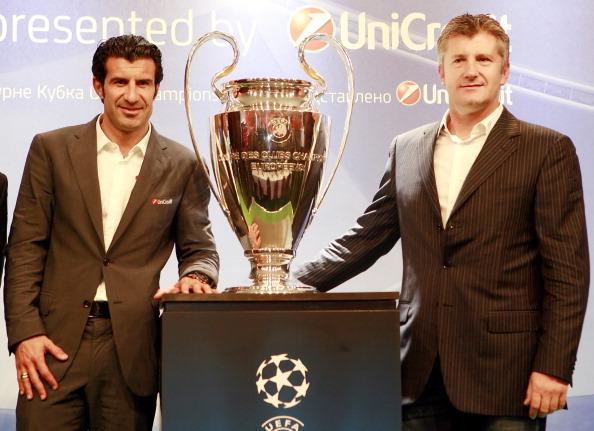 Кубок Лиги чемпионов приехал в Москву. Фоторепортаж с Красной площади