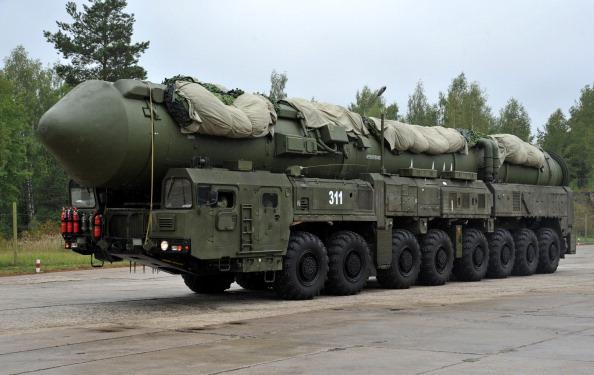 РС-24 «Ярс» - засекреченный ракетный комплекс,  был продемонстрирован в Тейковском гарнизоне