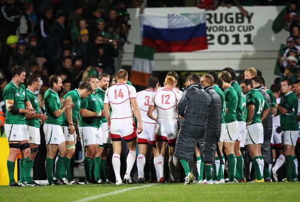 161 92411REGBy2 1 - Сборная России по регби проиграла команде Ирландии со счетом 62:12. Фоторепортаж с матча