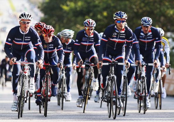 Фоторепортаж c ЧМ  по велоспорту. Велогонка на шоссе Road Race Junior Men в Дании