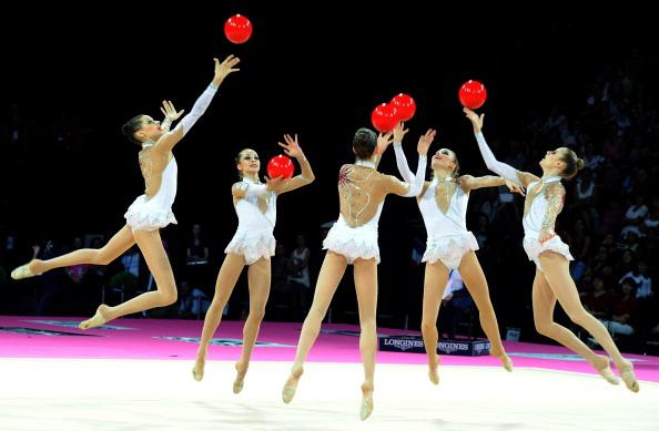 Сборная России по художественной гимнастике стала чемпионом мира в общекомандном зачете