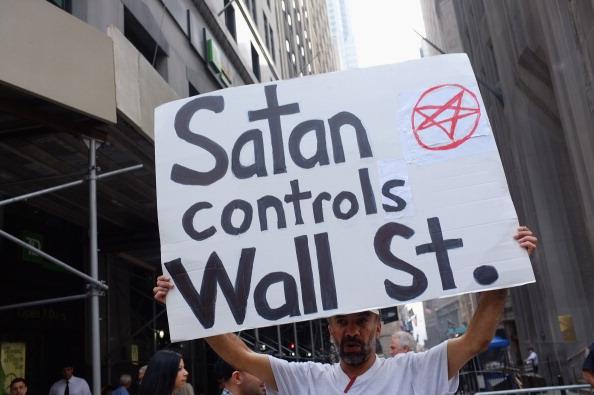 161 92611NY 11 - Фоторепортаж о демонстрантах на Уолл-стрит в Нью-Йорке