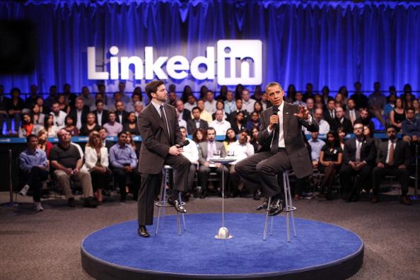 Барак Обама в корпорации LinkedIn продвигал свой план экономики
