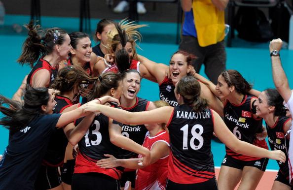 Женская сборная России по волейболу проиграла Турции и вышла из чемпионата.  Фоторепортаж с матча