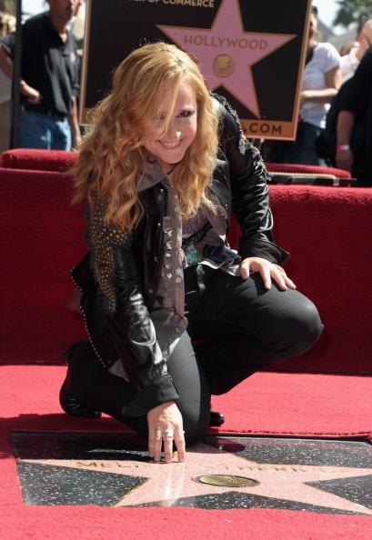 161 92811ZVEZDA 06 - Звезда Мелиссы Этеридж засияла на Аллее Славы в Голливуде