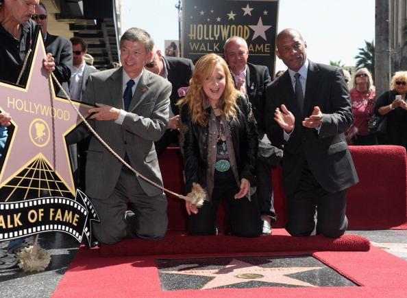161 92811ZVEZDA 15 - Звезда Мелиссы Этеридж засияла на Аллее Славы в Голливуде