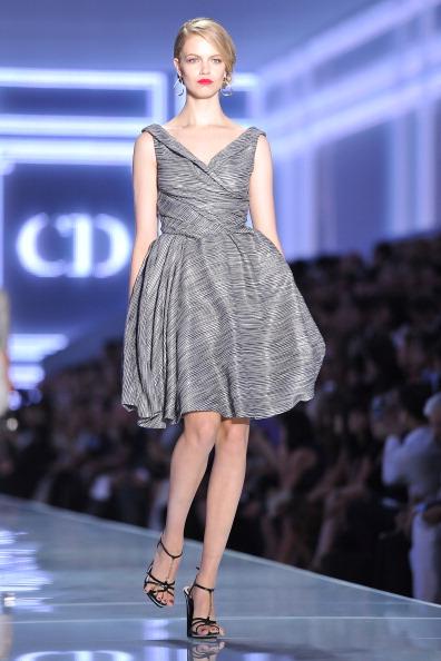 Christian Dior на Неделе моды в  Париже представил дизайнер Билл Гейтен
