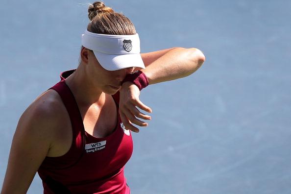 Вера Звонарева вышла в финал теннисного  турнира в   Токио. Фоторепортаж  с Toray Pan Pacific Open