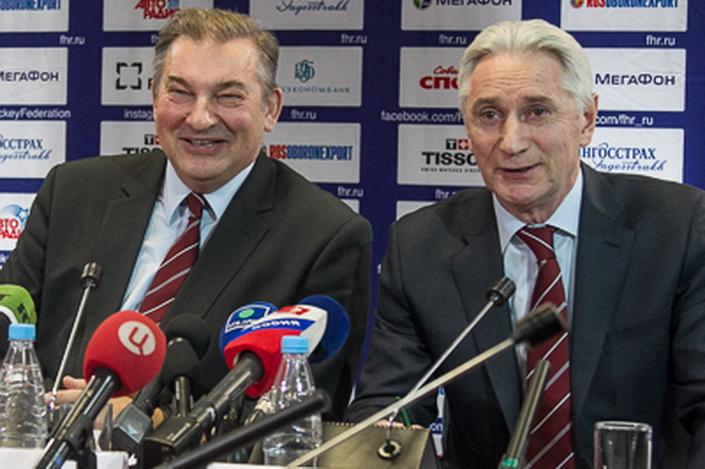 Третьяк: В марте Билялетдинов отчитается о поражении российских хоккеистов