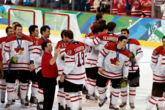 Канадцы стали чемпионами Олимпийских игр в хоккее