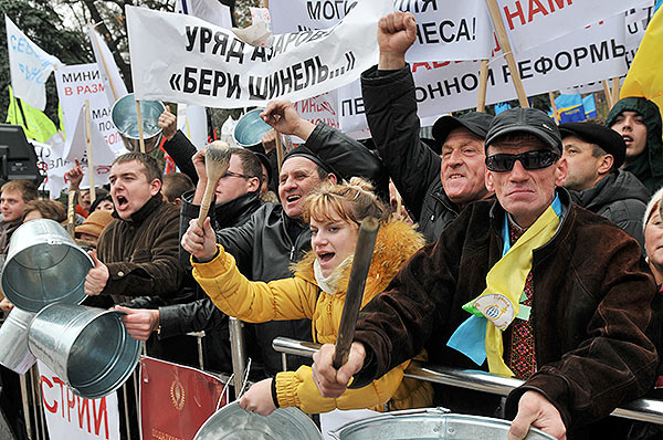 Киев: предприниматели требуют новый Налоговый кодекс