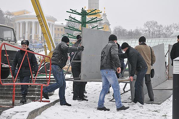 75 gorod 11 - Исчез палаточный городок предпринимателей на Майдане в Киеве