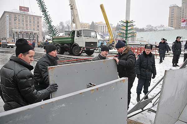 75 gorod 14 - Исчез палаточный городок предпринимателей на Майдане в Киеве