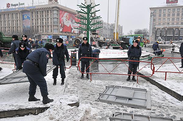 75 gorod 17 - Исчез палаточный городок предпринимателей на Майдане в Киеве